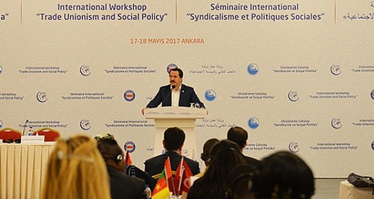 Seminaire International syndicalisme et Poitiques Sociales l