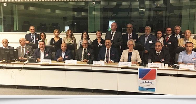 Participation de la confédération Memur-Sen au 36e Comité Consultatif Mixte UE-Turquie