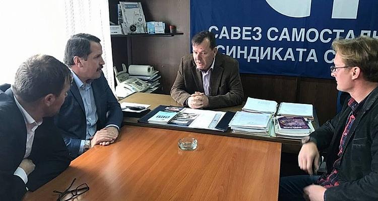 Visite d`une delegation conjointe Memur-Sen - Egitim Bir-Sen en Serbie, Montenegro, Bosnie & Croatie