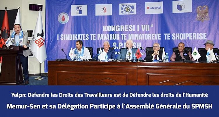 Participation d`une délégation Memur-Sen au 7e congrès ordinaire du SPMSH
