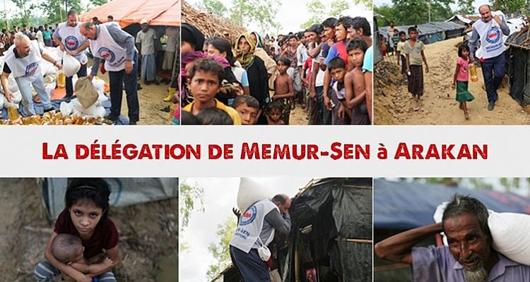 La délégation Memur-Sen visite le Népal, le Bangladesh et les musulmans d`Arakan