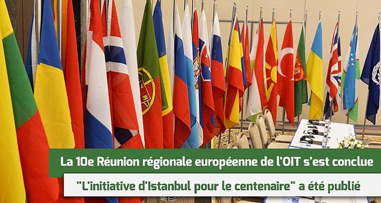La 10e Réunion régionale européenne de l`OIT  s`est conclue