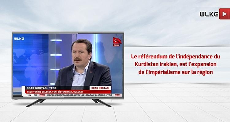 Le référendum d`indépendance du Kurdistan irakien, est l`expansion de l`impérialisme sur la région